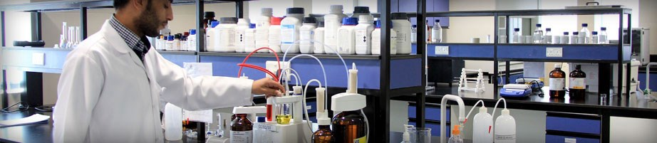 CAD Middle East Pharmaceutical Industries LLC - Chemical Capablities